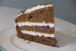 Rezepte Preiselbeer Kürbiskernöl Torte