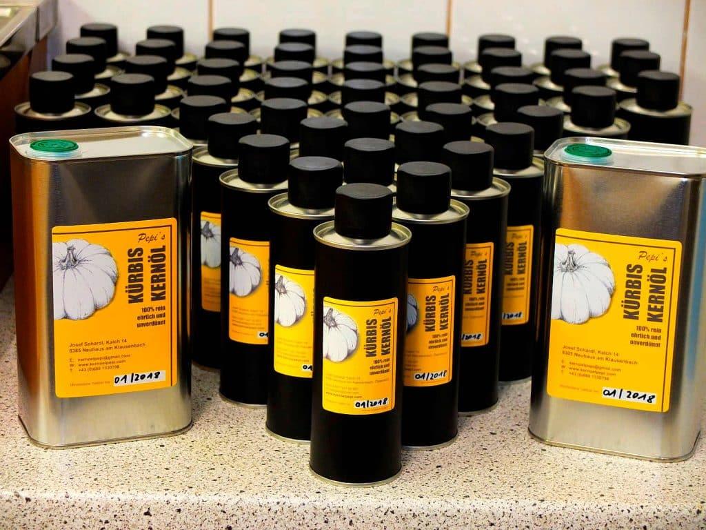 Kernöl ür Wiederverkäufer und Händler
